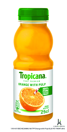 Tropicana Jus Orange 8x250ml