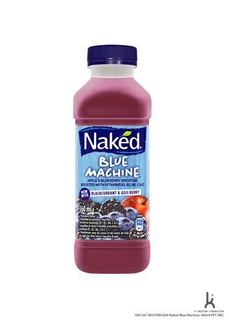 Naked Blue Machine 8x360ml