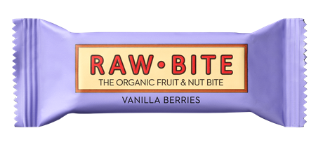 Raw Bite Vanilla Berries 12x50gr