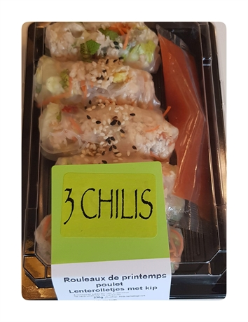 3Chilis Roll Printemps Poulet 1x5pc