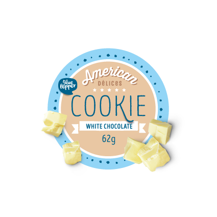American Cookie Vrac White 50x62gr