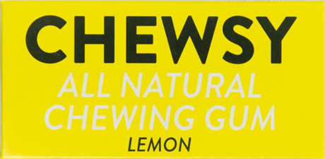 Chewsy Chewing Gum Lemon 12x18gr NEW