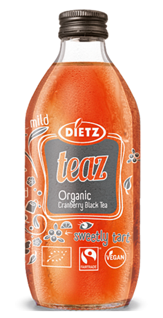 DIETZ Tea Cranberry BIO 20x330ml