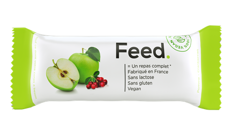 Feed Barre Pomme Cranberries 12x100gr NEW