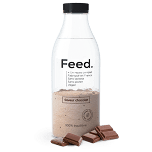 Feed Bouteille Poudre Chocolat 12x150gr NEW
