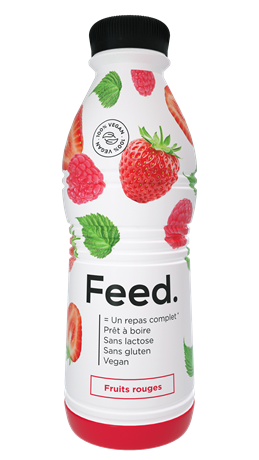 Feed Ready 2 Drink Fruits Rouges 12x750ml NEW