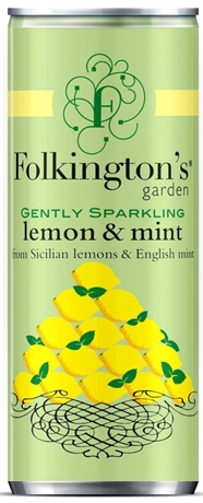Folkington's Can Lemon 12x250ml