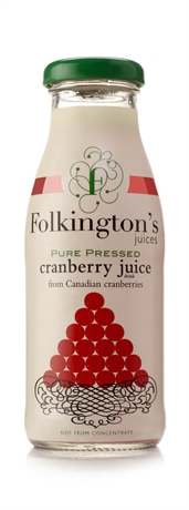 Folkington's Cranberry 12x250ml