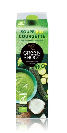 GreenShoot Courgette Coco Cury BIO 6x1lt