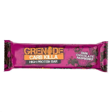 Grenade Killa Bar dark choc raspberry 12x60gr