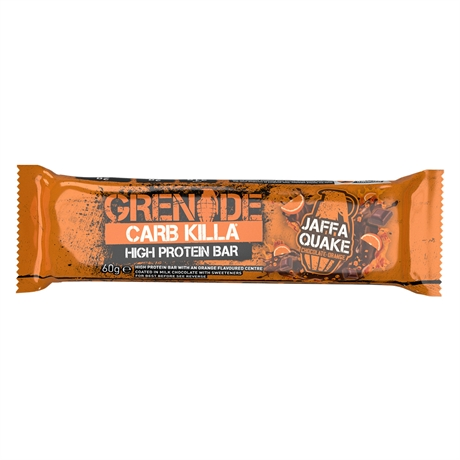 Grenade Carb Killa Bar Jaffa Quake 12x60gr