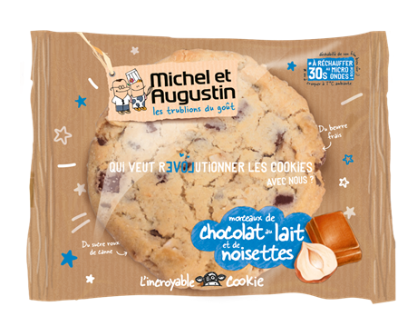 M&A Cookie Noisette 6x70gr