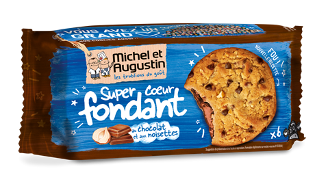 M&A Cookie Coeur Noisette 10x180gr