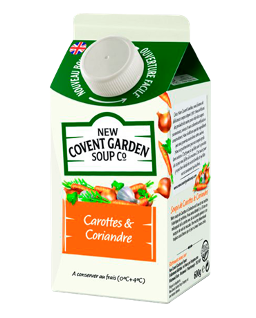 New Covent Carotte 6x600ml