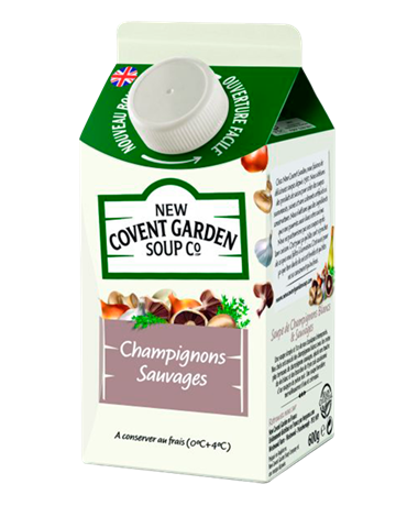 New Covent Champignons 6x600ml