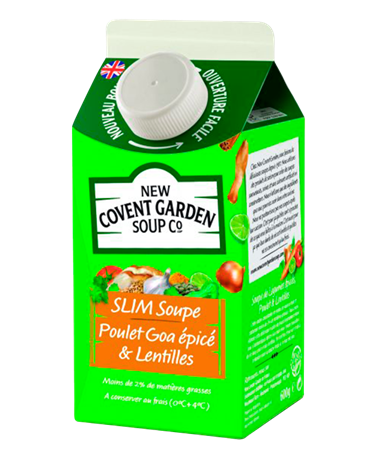 New Covent Poulet Goa 6x600ml