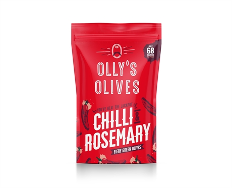 Olly's Olives Chili & Romarin 12x50gr