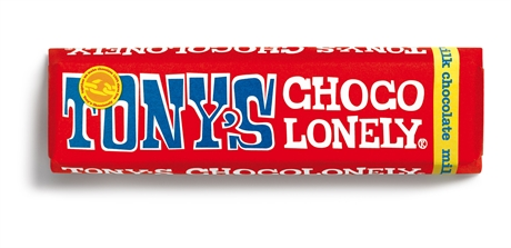 Tony's Chocolate Milk Chocolate 35x50gr