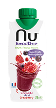 Nu Smoothie Grenade Acai Cranberry 12x330ml