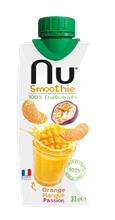 Nu Smoothie Orange Mangue Passion 12x330ml