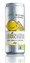 Bionina Can Lemon 24x330ml
