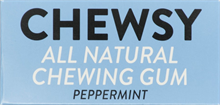 Chewsy Chewing Gum Peppermint 12x18gr NEW