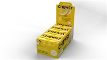 Chewsy Chewing Gum Lemon 12x15gr NEW