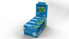 Chewsy Chewing Gum Peppermint 12x15gr NEW