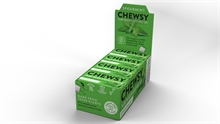 Chewsy Chewing Gum Spearmint 12x15gr NEW