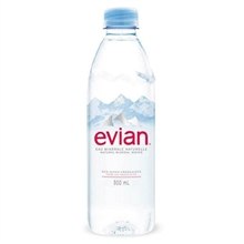 Evian Essence Cristal 24x500ml