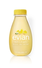 Evian Fruits & Plantes Citron & Fleur de Sureau BIO 12x370ml NEW