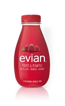 Evian Fruits & Plantes Framboise et Verveine BIO 12x370ml NEW