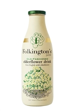 Folkingtons Bottle Elderflow 12x250ml