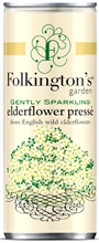 Folkingtons Can Elderflow 12x250ml