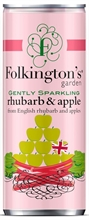 Folkington's Can Rhubarb 12x250ml