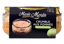 Marie Morin Crumble Pomme 6x130gr