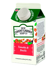 New Covent Tomate Basil.6x600ml