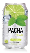 Pacha Drinks Mojito 24x330ml NEW