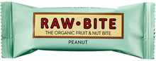 Raw Bite Peanut 12x50gr