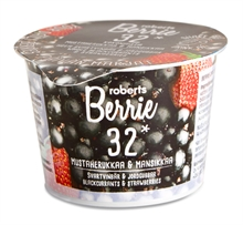 Roberts Berries Cassis Fraise 12x100ml NEW