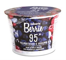 Roberts Berries Myrtille Framboise 12x100ml NEW