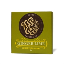 Willie's Ginger Lime Dark 12x50gr