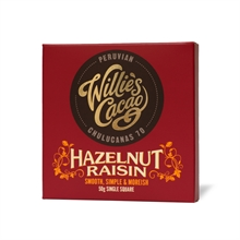 Willie's Hazelnut Raisin 12x50gr