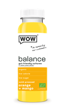 Wow Probiotique Mangue Orange BIO 6x250ml
