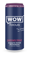 Wow Focus Mixed Berry 12x250ml