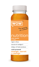 Wow Chia Orange Carotte et Mangue 6x250ml