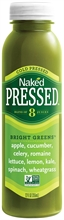 Naked Pressed Bright Greens 8x250ml