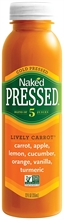 Naked Pressed Lively Carrot 8x250ml