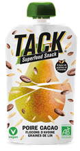 Tack Superfood Poire Cacao 6x90gr BIO