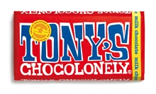 Tony's Chocolate Milk Chocolate 15x180gr